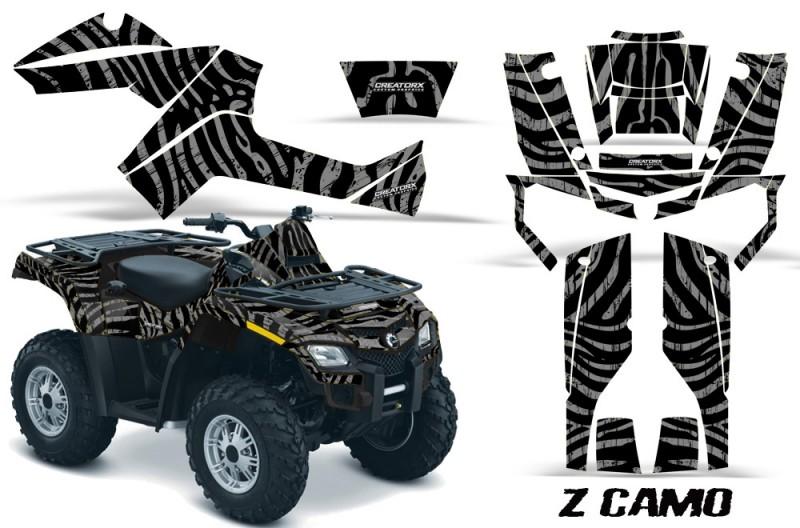 Can-Am-Outlander-800-CreatorX-Graphics-Kit-ZCamo-Silver