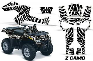 Can Am Outlander 800 CreatorX Graphics Kit ZCamo White 320x211 - Can-Am Outlander EFI 500-650 2012 Graphics