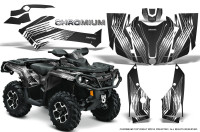 Can-Am-Outlander-G2-1000-2015-Graphics-Kit-Chromium-Black