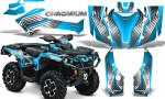 Can Am Outlander G2 1000 2015 Graphics Kit Chromium BlueIce 150x90 - Can-Am Outlander 500-650-800-1000 XMR-MAX XT XT-P DPS SST G2 2013-2021 Graphics