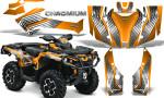 Can Am Outlander G2 1000 2015 Graphics Kit Chromium Orange 150x90 - Can-Am Outlander 500-650-800-1000 XMR-MAX XT XT-P DPS SST G2 2013-2021 Graphics