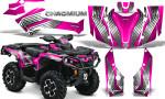Can Am Outlander G2 1000 2015 Graphics Kit Chromium Pink 150x90 - Can-Am Outlander 500-650-800-1000 XMR-MAX XT XT-P DPS SST G2 2013-2021 Graphics