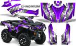 Can Am Outlander G2 1000 2015 Graphics Kit Chromium Purple 150x90 - Can-Am Outlander 500-650-800-1000 XMR-MAX XT XT-P DPS SST G2 2013-2021 Graphics