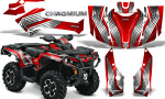 Can Am Outlander G2 1000 2015 Graphics Kit Chromium Red 150x90 - Can-Am Outlander 500-650-800-1000 XMR-MAX XT XT-P DPS SST G2 2013-2021 Graphics