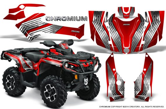 Can-Am-Outlander-G2-1000-2015-Graphics-Kit-Chromium-Red
