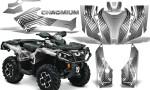 Can Am Outlander G2 1000 2015 Graphics Kit Chromium Silver 150x90 - Can-Am Outlander 500-650-800-1000 XMR-MAX XT XT-P DPS SST G2 2013-2021 Graphics