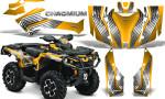 Can Am Outlander G2 1000 2015 Graphics Kit Chromium Yellow 150x90 - Can-Am Outlander 500-650-800-1000 XMR-MAX XT XT-P DPS SST G2 2013-2021 Graphics