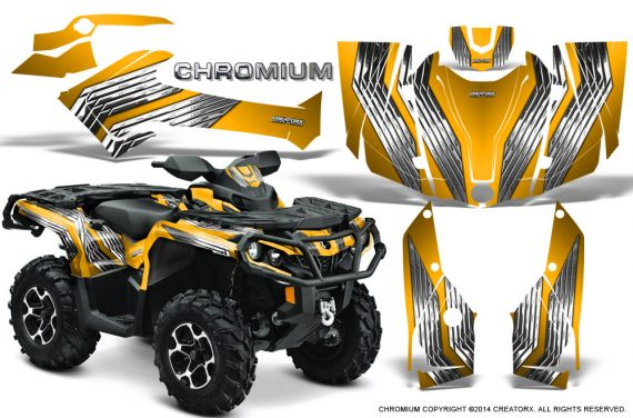 Can-Am-Outlander-G2-1000-2015-Graphics-Kit-Chromium-Yellow