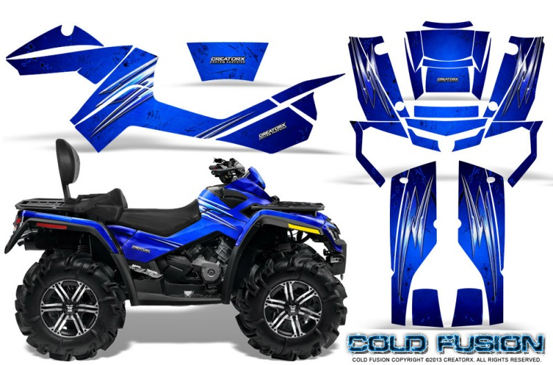 Can-Am-Outlander-MAX-CreatorX-Graphics-Kit-Cold-Fusion-Blue
