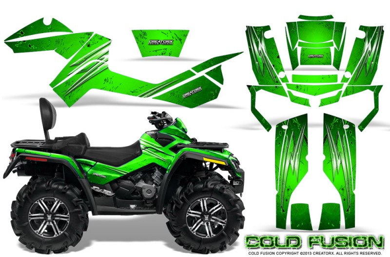 Can-Am-Outlander-MAX-CreatorX-Graphics-Kit-Cold-Fusion-Green