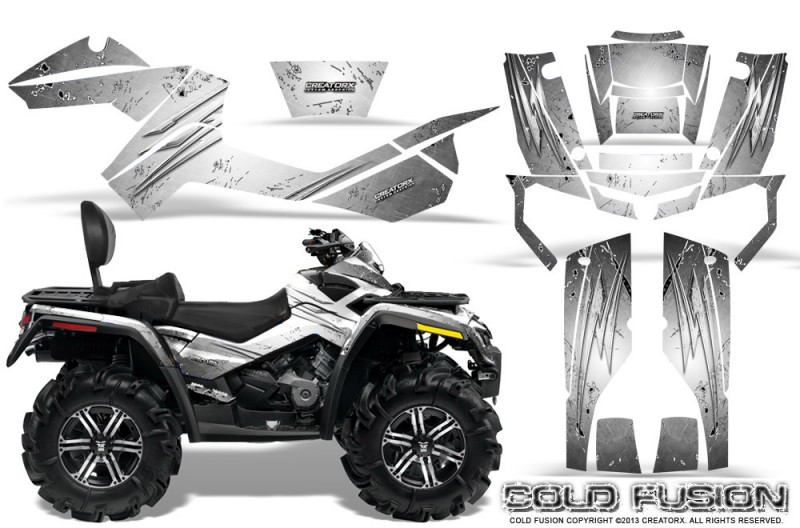 Can-Am-Outlander-MAX-CreatorX-Graphics-Kit-Cold-Fusion-White