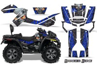 Can-Am-Outlander-MAX-CreatorX-Graphics-Kit-Danger-Zone-Blue-Black