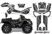 Can-Am-Outlander-MAX-CreatorX-Graphics-Kit-Danger-Zone-Silver-Black