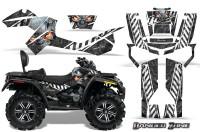 Can-Am-Outlander-MAX-CreatorX-Graphics-Kit-Danger-Zone-White-Black