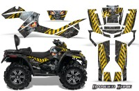 Can-Am-Outlander-MAX-CreatorX-Graphics-Kit-Danger-Zone-Yellow-Black