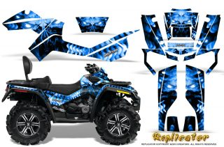 Can Am Outlander MAX CreatorX Graphics Kit Replicator Blue 320x211 - Can-Am Outlander MAX 500-650-800R 2006-2012 Graphics