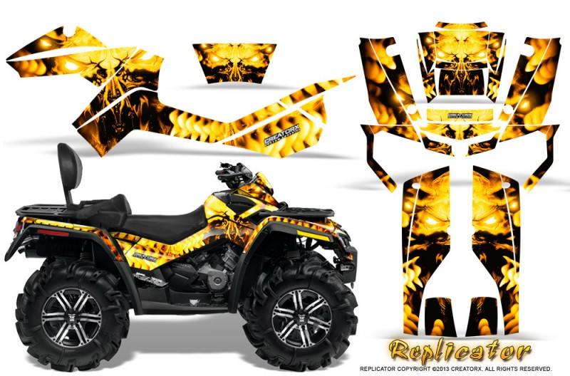 Can-Am Outlander MAX 500/650/800R Graphics 2006-2012