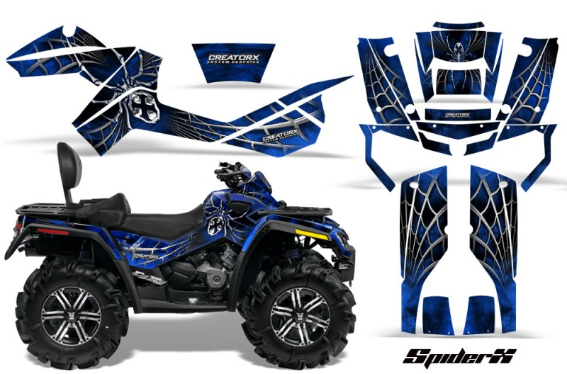 Can-Am-Outlander-MAX-CreatorX-Graphics-Kit-SpiderX-Blue-BLB