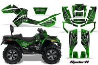 Can-Am-Outlander-MAX-CreatorX-Graphics-Kit-SpiderX-Green