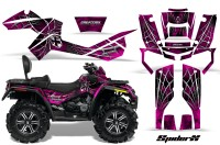 Can-Am-Outlander-MAX-CreatorX-Graphics-Kit-SpiderX-Pink