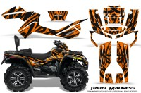 Can-Am-Outlander-MAX-CreatorX-Graphics-Kit-Tribal-Madness-Orange