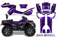 Can-Am-Outlander-MAX-CreatorX-Graphics-Kit-Tribal-Madness-Purple