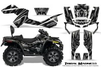 Can-Am-Outlander-MAX-CreatorX-Graphics-Kit-Tribal-Madness-Silver