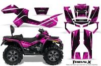 Can-Am-Outlander-MAX-CreatorX-Graphics-Kit-TribalX-Black-Pink