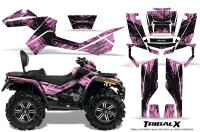 Can-Am-Outlander-MAX-CreatorX-Graphics-Kit-TribalX-Black-PinkLite