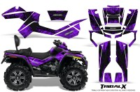 Can-Am-Outlander-MAX-CreatorX-Graphics-Kit-TribalX-Black-Purple