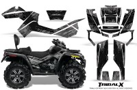 Can-Am-Outlander-MAX-CreatorX-Graphics-Kit-TribalX-Black-Silver