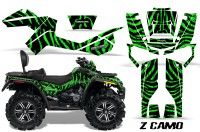 Can-Am-Outlander-MAX-CreatorX-Graphics-Kit-ZCamo-Black-Green