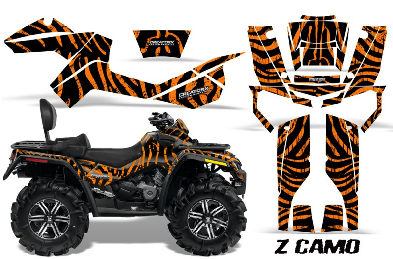 Can-Am-Outlander-MAX-CreatorX-Graphics-Kit-ZCamo-Black-Orange