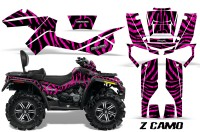 Can-Am-Outlander-MAX-CreatorX-Graphics-Kit-ZCamo-Black-Pink