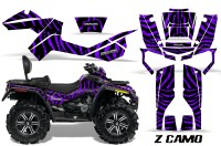 Can-Am-Outlander-MAX-CreatorX-Graphics-Kit-ZCamo-Black-Purple