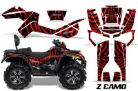 Can-Am-Outlander-MAX-CreatorX-Graphics-Kit-ZCamo-Black-Red-BB