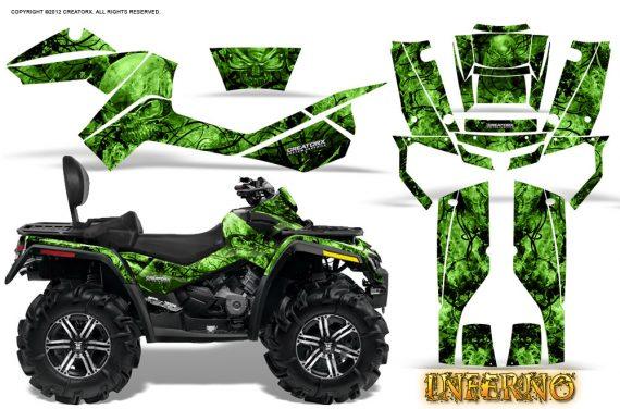 Can-Am-Outlander-MAX-Graphics-Kit-Inferno-Green