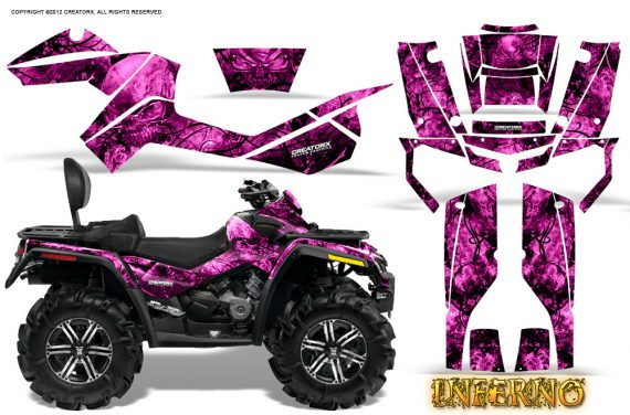 Can-Am-Outlander-MAX-Graphics-Kit-Inferno-Pink