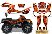 Can-Am-Outlander-MAX-Graphics-Kit-Inferno-Red