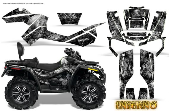 Can-Am-Outlander-MAX-Graphics-Kit-Inferno-Silver