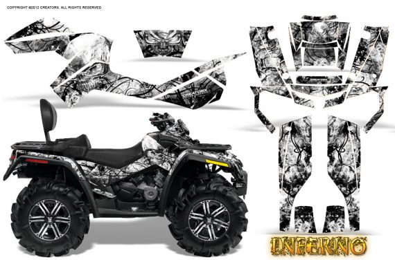 Can-Am-Outlander-MAX-Graphics-Kit-Inferno-White