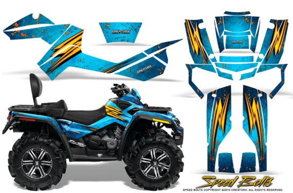 Can-Am-Outlander-MAX-Graphics-Kit-Speed-Bolts-BlueIce
