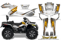 Can-Am-Outlander-MAX-Graphics-Kit-Speed-Bolts-White