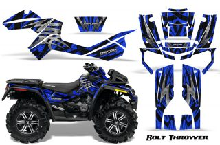 Can Am Outlander XMR CreatorX Graphics Kit Bolt Thrower Blue BB 320x211 - Can-Am Outlander XMR 800R 2012 Graphics