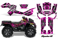 Can-Am-Outlander-XMR-CreatorX-Graphics-Kit-Bolt-Thrower-Pink-on-Yellow