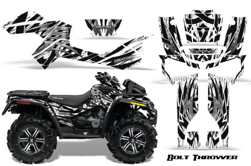 Can-Am-Outlander-XMR-CreatorX-Graphics-Kit-Bolt-Thrower-White
