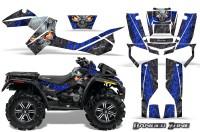 Can-Am-Outlander-XMR-CreatorX-Graphics-Kit-Danger-Zone-Blue-Black