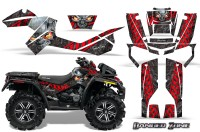 Can-Am-Outlander-XMR-CreatorX-Graphics-Kit-Danger-Zone-Red-Black