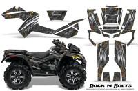 Can-Am-Outlander-XMR-CreatorX-Graphics-Kit-Rock-n-Bolts-Black
