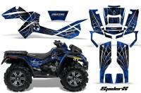 Can-Am-Outlander-XMR-CreatorX-Graphics-Kit-SpiderX-Blue-BB